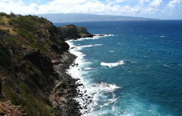 Картинка coast, line, kapalua