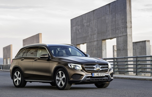 Картинка Mercedes-Benz, мерседес, 4MATIC, 2015, Off-Road, GLC, X205