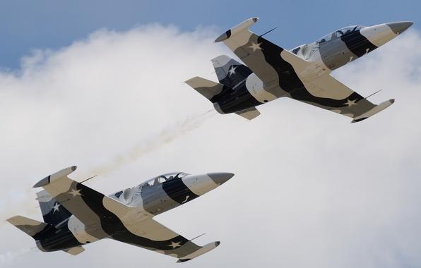 Картинка полёт, самолёт, «Альбатрос», Albatros, учебно-боевой, Aero L-39