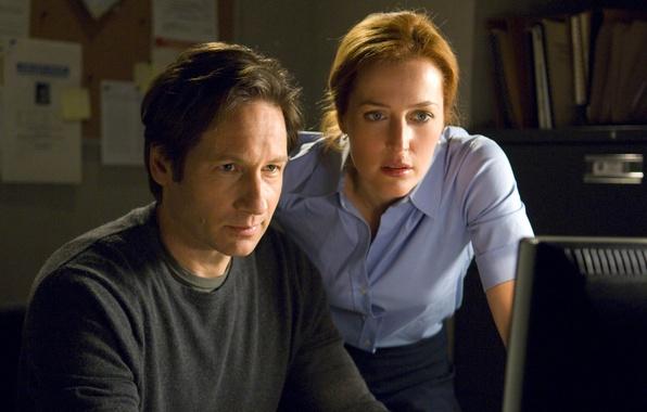 Картинка фильм, The X-Files, David Duchovny, Gillian Anderson, Хочу верить, Секретные материалы, I Want to Believe