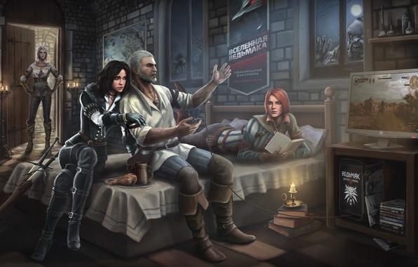 Ведьмак 3 - Обои для рабочего стола - Diablo1 ru