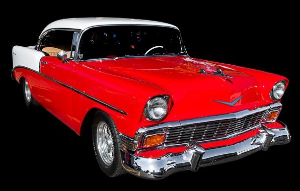 Картинка ретро, купе, Chevrolet, автомобиль