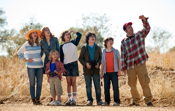 Картинка дети, Drew Barrymore, Bella Thorne, Смешанные, Blended, Adam Sandler