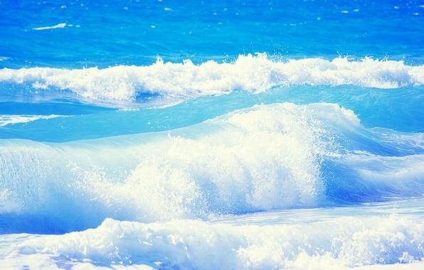 Картинка море, волны, вода, свежесть, природа, океан, waves, fresh, sea, ocean, nature, water, 2560x1600