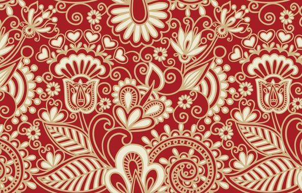 Картинка цветы, узоры, узор, текстура, арт
