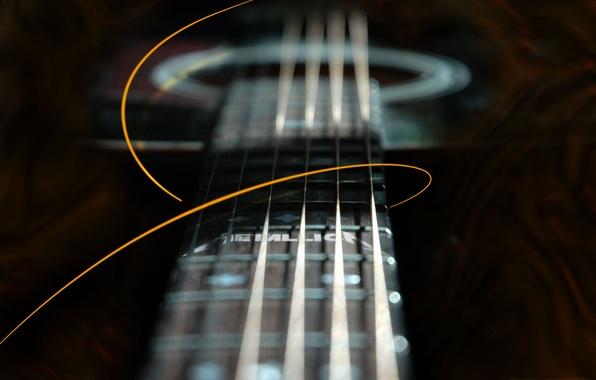 Картинка гитара, metallica, гриф