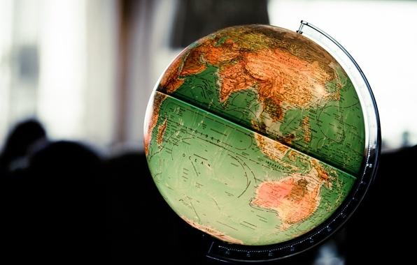 Картинка фон, шар, глобус