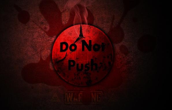 Картинка красный, смерть, опасность, черный, кровь, череп, кнопка, not, push