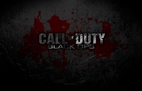 Картинка кровь, call of duty, cod, black ops