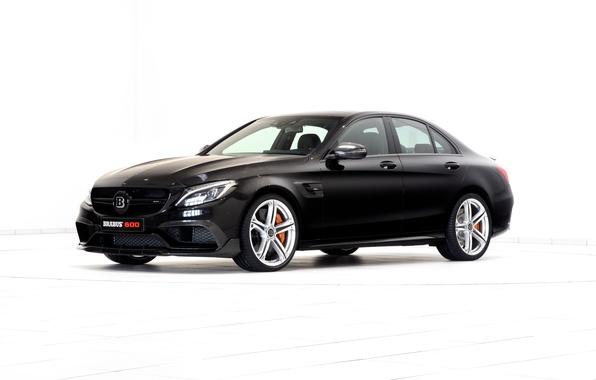 Картинка Mercedes-Benz, Brabus, мерседес, AMG, брабус, амг, 2015, C-Class, W205