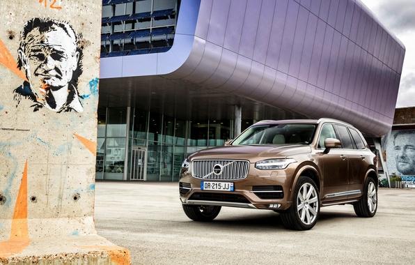 Картинка Volvo, XC90, вольво, 2015, Inscription
