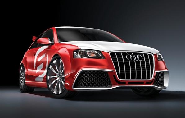 Картинка красный, Audi A3