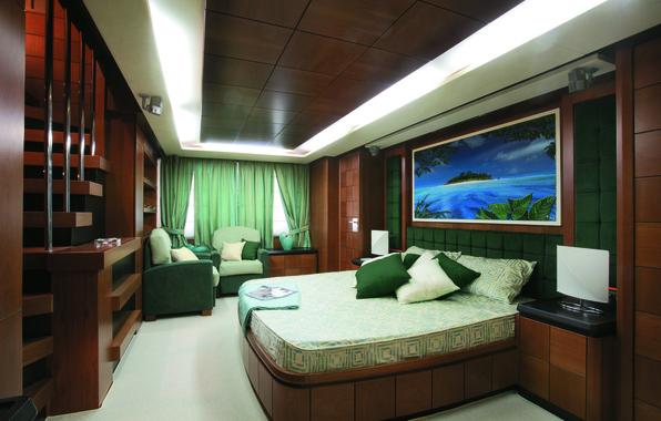 Картинка дизайн, стиль, интерьер, яхта, люкс, каюта