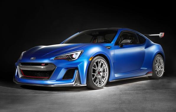 Картинка Concept, спорт, тюнинг, Subaru, субару, BRZ, 2015, STI Performance