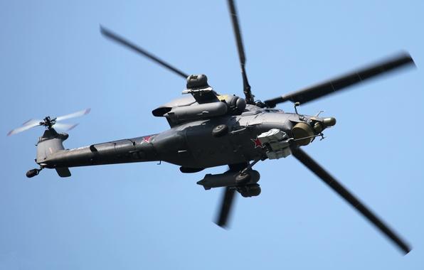 Картинка вертолет, ввс россии, ми-28н, Havoс, Ночной охотник