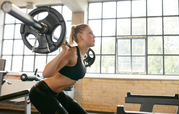 Картинка women, crossfit, weight lifting