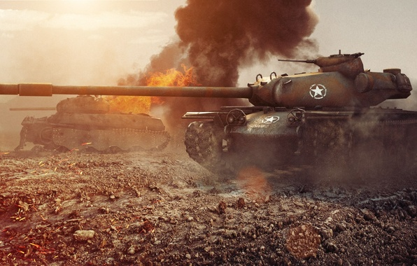 Картинка танк, USA, США, танки, WoT, World of Tanks, T110E5, Wargaming.Net