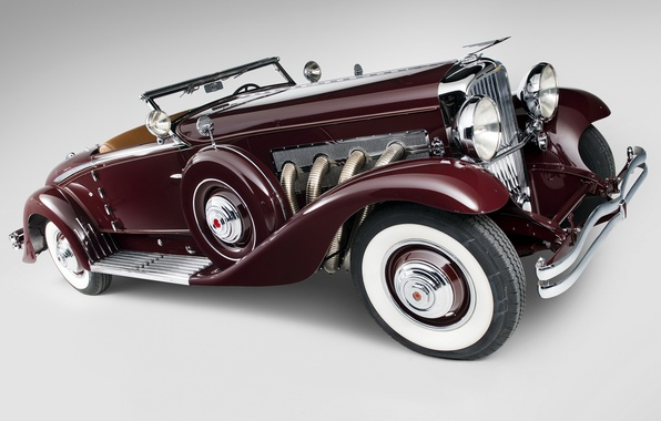 Картинка Coupe, Convertible, 1935, Duesenberg, Walker-LaGrande, J 530/2563, дюсенберг