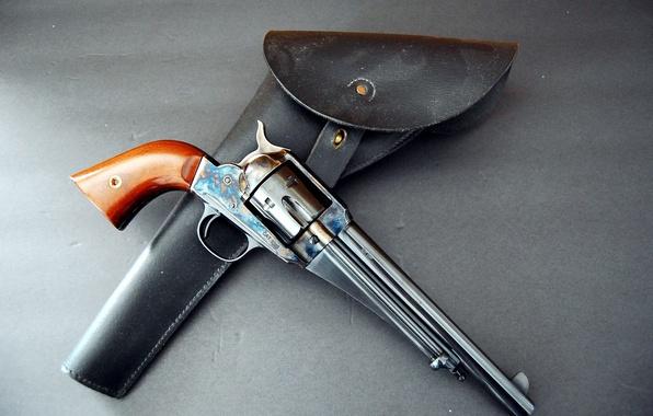 Картинка оружие, револьвер, кобура, Remington, 1875