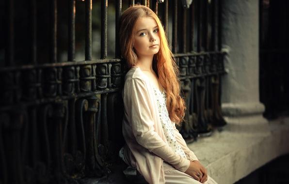 Картинка волосы, освещение, девочка, прелесть, локоны, angels