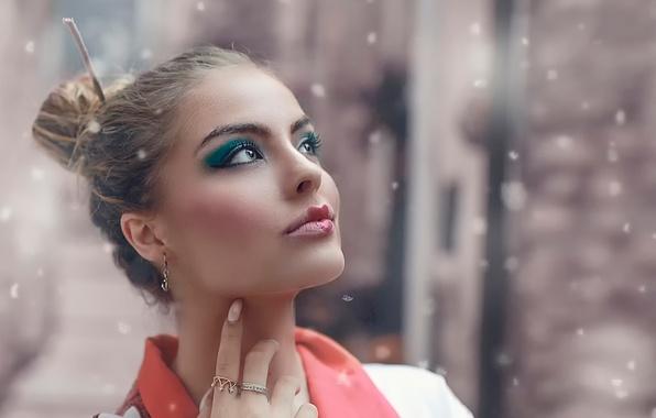 Картинка девушка, макияж, Alessandro Di Cicco, Princess of China