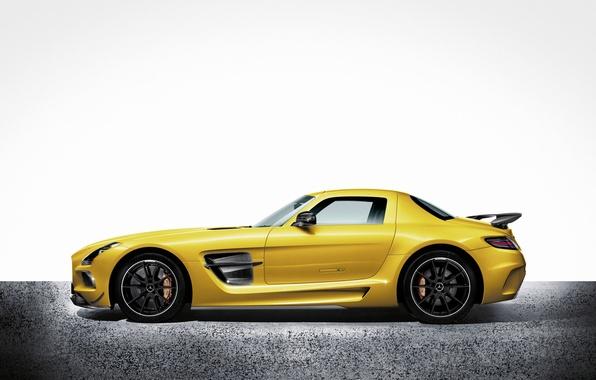 Картинка Mercedes Benz, AMG, SLS, Black Series
