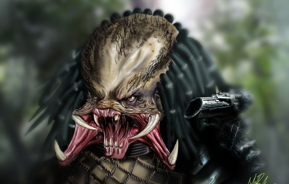 Картинка хищник, существо, Predator