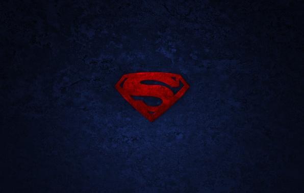 Картинка фон, логотип, символ, superman, супермен, супергерой