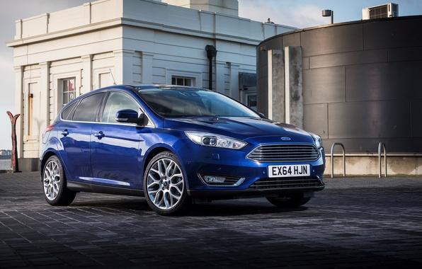 Картинка Ford, фокус, Focus, форд, UK-spec, 2014