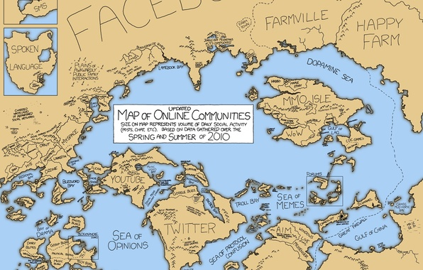 Картинка Карта, lineage 2, интернет, blizzard, wow, facebook, googletalk, flickr, email, eve online, runescape, tagged, myspace, …