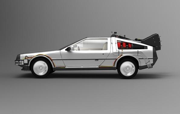 Картинка car, фильм, автомобиль, машина времени, назад в будущее, Delorean, Back to the future, делореан