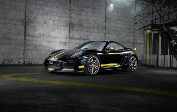 Картинка Porsche, Cayman, порше, GT4, TechArt, кайман