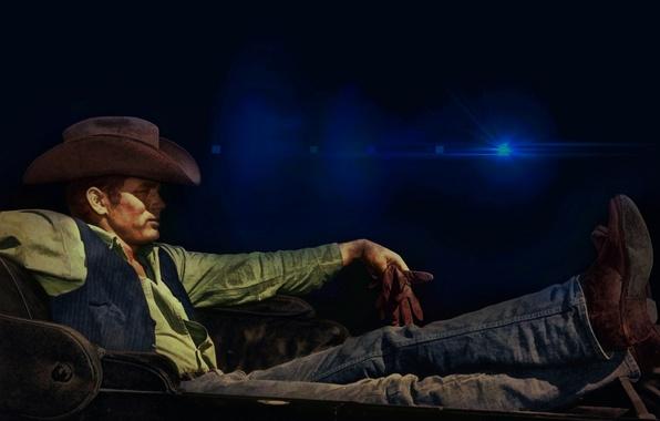 Картинка фон, шляпа, актер, James Dean