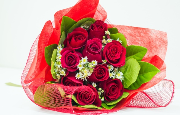 Картинка цветы, романтика, розы, букет, rose, flower, i love you, flowers, for you, beautiful, pretty, romantic, …