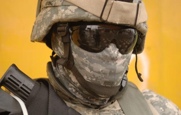 Картинка наемник, морпех, Камуфляж, Army Combat Uniform (ACU), US Army