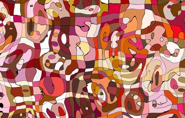 Картинка абстракция, фон, разноцветный