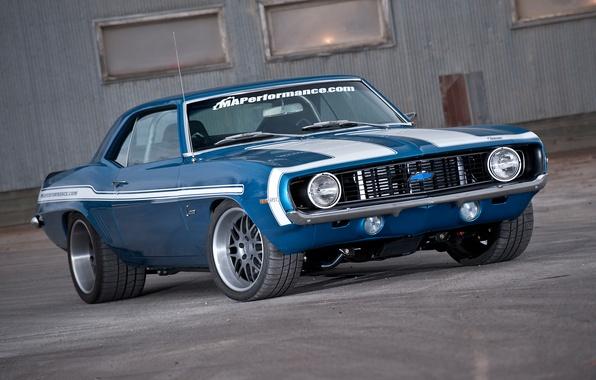 Фото обои Chevrolet, Camaro, Wheels, DE3P