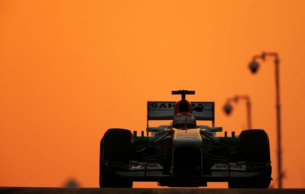 Картинка grand prix, Abu Dhabi, UAE, Force India., Yas Marina