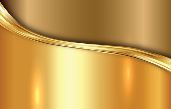 Картинка металл, золото, vector, metal, plate, golden, background, steel, gradient