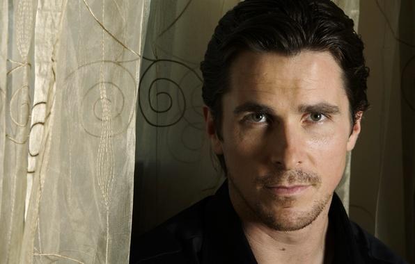 Картинка взгляд, лицо, портрет, актер, мужчина, Кристиан Бэйл, Christian Bale