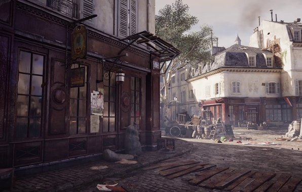 Картинка dirt, streets, business, assassin's creed unity