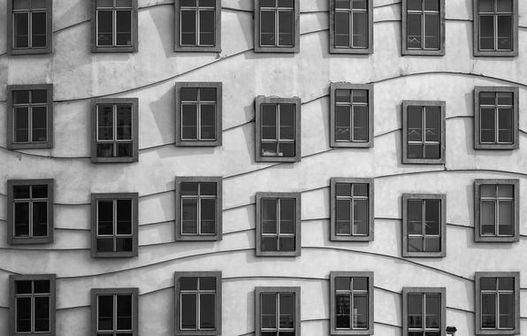 Картинка дом, стена, окна, ◫ ◫ ◫ ◫ ◫ ◫ ◧ ◫