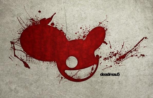 Картинка кровь, мышь, пятна, диджей, deadmau5, DJ Deadmau5, дедмаус