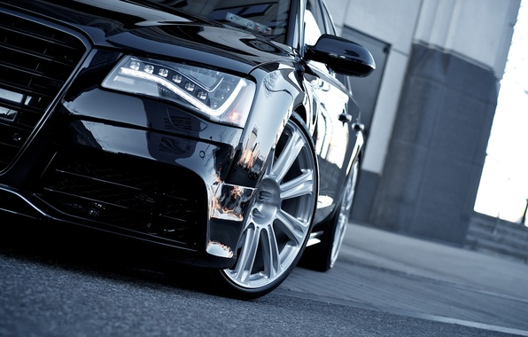 Картинка car, авто, ауди, audi, автомобиль, black, cars, auto, wallpapers auto, wallpapers audi, Audi A8