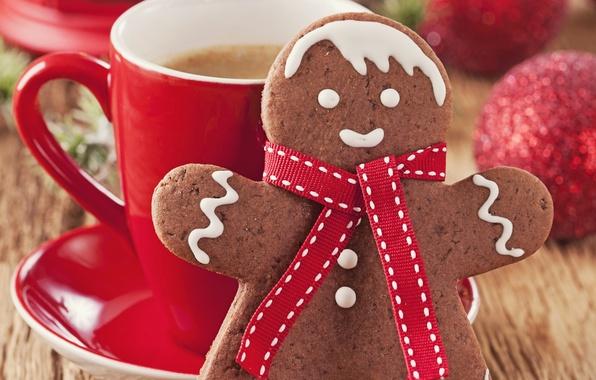 Картинка украшения, игрушки, шоколад, куклы, Новый год, new year, toys, chocolate, merry christmas, decoration, красные шары, …