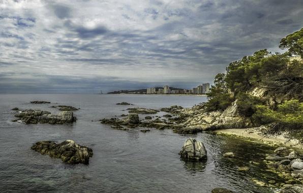 Картинка город, панорама, Испания