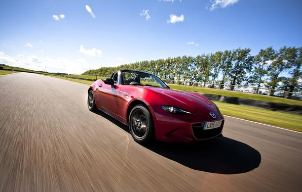 Картинка Mazda, мазда, UK-spec, MX-5, 2015
