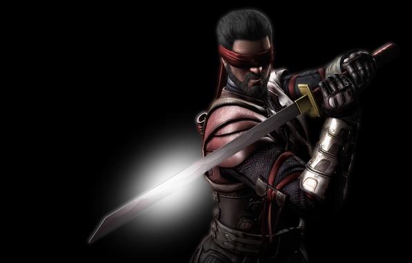 Картинка меч, катана, повязка, Смертельная битва, Kenshi, Кэнси, Mortal Kombat X, Кенши, Кэнши, Кенси