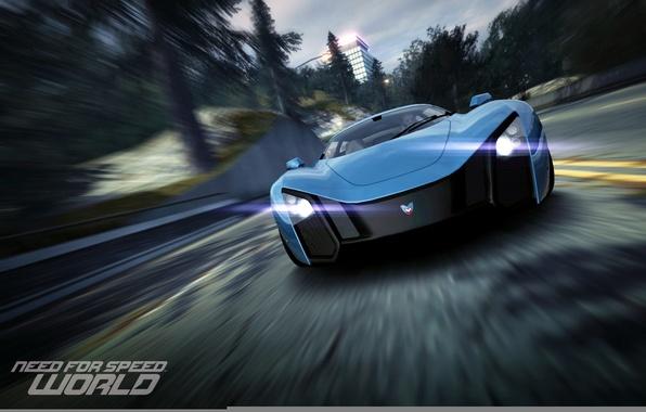 Картинка скорость, тачка, гонки, World, game, NFS, Need for speed, MaRussia B2