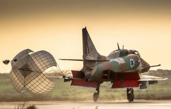 Картинка фон, самолёт, A-4 Skyhawk